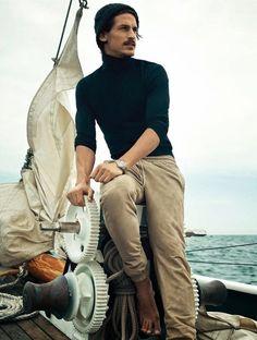 jarrod scott photos 0021 Jarrod Scott Models Nautical Styles for GQ Australia