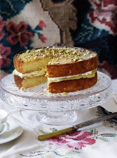 This super moist cake makes a gorgeous dessert or afternoon tea. The unfilled cakes will keep for 3-4 days in an airtight container.