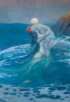 Howard Pyle - The Mermaid  one of my all time favorites!