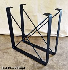 FREE SHIPPING: SET of 2 Metal Coffee Table by TimberForgeWoodworks