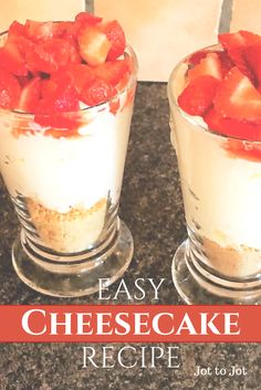 An easy cheesecake recipe