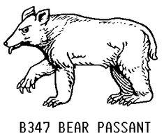 Bear Passant