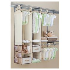 You'll love the Deep Nursery Closet Organizer 24 Piece Set at Wayfair - Great Deals on all Storage & Housekeeping products with Free Shipping on most stuff, even the big stuff.