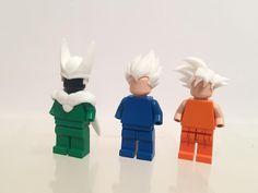 3D Prints arrived!  #customlego #lego #sculpture #legophotography #toyporn #disney #legodisney #Lego_Hub #BrickCentral #Toydiscovery #StuckInPlastic #dragonballz #dbz #cell #vegeta #goku #supersaiyan #legodragonball #anime #manga legoanime #3dprinting #shapeways #tinkercad