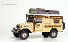 Custom BJ45 Troopy Land Cruiser