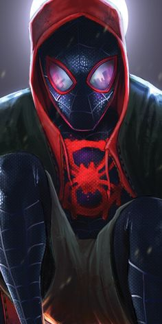 Miles Morales - Ultimate Spider-Man, Into the Spider-Verse Ultimate Spider Man, Marvel Comics, Marvel Art, Marvel Heroes, Amazing Spiderman, Spiderman Spider, Black Spiderman, Wallpaper Animé, Marvel Wallpaper