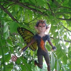 Fairy handmade in polymerclay