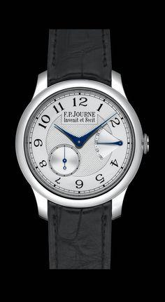 Chronometre Souverain watch by FP Journe on Presentwatch.com