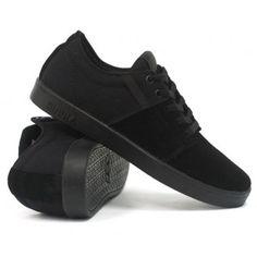 db4392540d0adc SUPRA Stacks (Black Black) Mens Skate Shoes  59.99. Ambush Board Co.