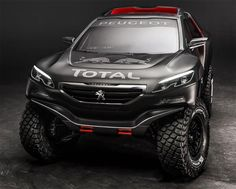 2015 Peugeot Dakar Rally Car