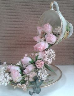 """I'll show you how to make your very own , """"FLOATING TEA CUP!"""" A Great Craft for Easter, Mother's Day, any occasion. Enjoy, please like,share,comment and subs..."""