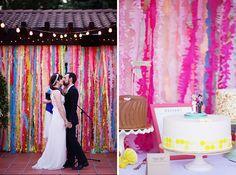 19 Stunning Ceremony Backdrops via Brit + Co