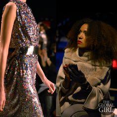 Front Row with The Global Girl at New York Fashion Week: Ndoema at Son Jung Wan Fall Winter 2014 Runway Collection