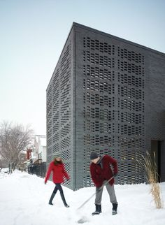 Studio Gang Architects | Brick Weave House