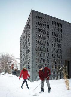 Studio Gang Architects   Brick Weave House