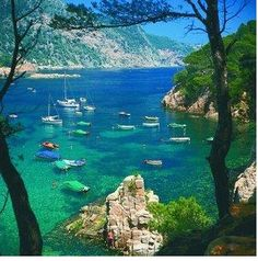 Mallorca, Spain one week! Nothing but Mallorca Places Around The World, Oh The Places You'll Go, Places To Travel, Travel Destinations, Places To Visit, Tourist Places, Menorca, Dream Vacations, Vacation Spots