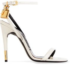 4cb5d24583a2 TOM FORD - Leather Sandals - Off-white White Heels