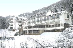 Außenansicht des AKZENT Waldhotel Rheingau in Geisenheim zur Winterzeit. Outdoor, Winter Time, Outdoors, Outdoor Games, Outdoor Living