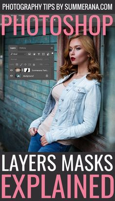 One of the things you often see us talking about when explaining Photoshop techniques is layer masks. If you are new to using Photoshop and haven't had much experience in the interface, you may be totally lost as to what […] Photoshop Fail, Photoshop Tutorial, Layer Mask Photoshop, Photoshop Actions For Photographers, Effects Photoshop, Photoshop Photos, Photoshop Photography, Advanced Photoshop, Photoshop Express