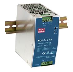 [MEAN WELL] original NDR-240-48 48V 5A meanwell NDR-240 48V 240W Single Output Industrial DIN Rail Power Supply
