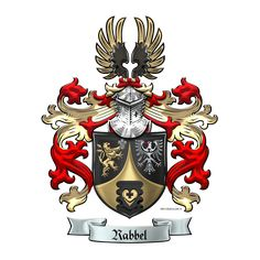 2a5d18bb Heraldry Workshop: Rabbel Coat of Arms for Pro Heraldica by Serge Averbukh.