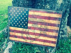 Vintage American Flag with Marine Corps emblem by WrightAwayDesigns on Etsy https://www.etsy.com/listing/247452816/vintage-american-flag-with-marine-corps