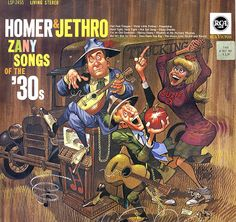 Homer & Jethro Discography | Posted byDebbie D at 8:38 PM