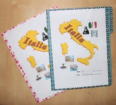 Creating and Educating: Italy Lapbooks