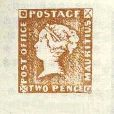 Mauritius Two Pence Post Office Stamp 1847 Valued at $1,670,000 Framed Print