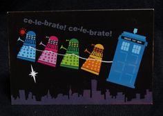 Daleks love Christmas too!