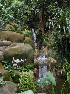 Imbiah Falls - Imbiah Trail, Sentosa, Singapore