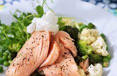 Gå ner 2-3 kg på en vecka med våra kickstartsrecept Ketogenic Recipes, Keto Recipes, Dinner Recipes, Healthy Recepies, Healthy Snacks, Keto On The Go, Clean Eating Plans, Keto For Beginners, Fish And Seafood