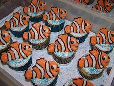 Plumeria Cake Studio: Nemo Cupcakes