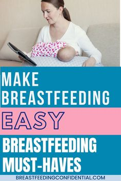 Make breastfeeding easy with these must-haves for new moms. Some are tried and true and some are new and innovative. Check out this list of these genius breastfeeding products. Breastfeeding Books, Breastfeeding Accessories, Breastfeeding Problems, Breastfeeding Support, Diy Nursing Clothes, How To Breastfeed Newborns, Lactation Consultant, Nursing Mother, Nursing Pads