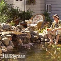 Pond: How to Build a Low-Maintenance Pond | The Family Handyman