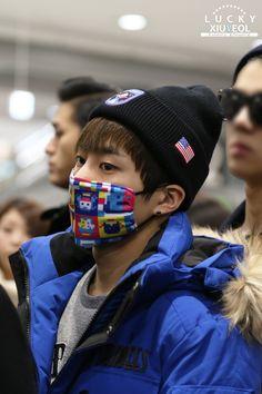 Xiumin | 141222 Gimpo Airport departing for Osaka