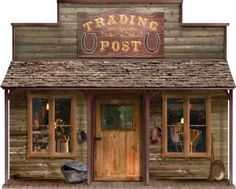 Old West General Store Signs - Bing images Western Shop, Western Saloon, Building Front, Building Signs, Play Houses, Bird Houses, Old Western Towns, Western Homes, Old West Town