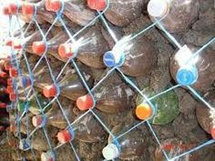 to Construct Houses With Plastic Bottles ! How to construct houses with plastic bottles.How to construct houses with plastic bottles. Natural Building, Green Building, Building A House, Plastic Recycling, Recycle Plastic Bottles, Empty Wine Bottles, Glass Bottles, Earthship, Plastic Bottle House
