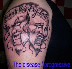 Addiction Symbol Tattoos