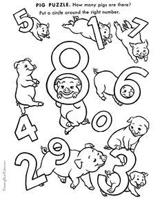 preschool printables for kids - Printable Activities For Children