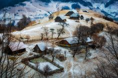 Winter in Romania by Cezar Machidon Photojournalism, Beautiful Landscapes, Romania, Mount Rushmore, Beautiful Places, Cosplay, Culture, Adventure, Winter