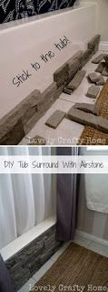 Creativity with Home Style Charm!: BATHTUB MAKEOVER WITH AIR-STONE.......