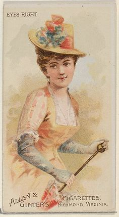 Allen & Ginter | Eyes Right, from the Parasol Drills series (N18) for Allen & Ginter Cigarettes Brands | The Met