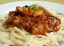 "Čína "" Sečuán "" No Salt Recipes, Cooking Recipes, China Food, Spaghetti, Food And Drink, Menu, Ethnic Recipes, Indie, Heartburn"