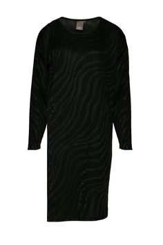 Knit zebra print long sleeve jersey style dress. Knee length. Fit loose intended. This cute jersey dress is perfect for work and play!  Norr Dress by ICHI. Clothing - Dresses - Long Sleeve Bromley South London London