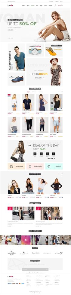 Linda is a clean and modern design premium #PSD template for #webdev multipurpose #eCommerce website with 21+ homepage layouts and 82 organized PSD pages download now➩ https://themeforest.net/item/linda-mutilpurpose-ecommerce-psd-template/18963614?ref=Datasata