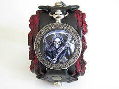 leon / Rokerské hodinky, gothické hodinky, vreckové hodinky