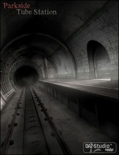 Parkside Tube Station - Parkside is a forgotten old town - deserted, left to ruin, it's no longer even on the maps. Amongst the decay sits the old Parkside Tube Station - once bustling with activity, now filled with shadows. This modular 3D environment includes tunnel sections that can be loaded in various ways to create a versatile set of backdrops. Included is a preload to help you quickly set the scene, as well as the DAZ Studio light set used in the promotional images. $9.99