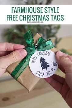 Christmas is just around and the corner and to celebrate I spent the last couple of days designing over 50 Free Printables Christmas Gift Tags! I made a wide variety of Christmas gift tags because I wanted you to give multiple options to choose from. Free Printable Christmas Gift Tags, Free Christmas Gifts, Holiday Gift Tags, Christmas Videos, Christmas Time, Christmas Decor, Free Printables Weihnachten, Handmade Gift Tags, Free Gift Cards