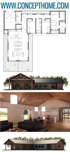 House Plan Home Plan, Floor plan Dream House Sketch, Dream House Plans, Small House Plans, House Floor Plans, Cottage House Designs, Cottage Homes, House Cladding, Trendy Wallpaper, Built Environment